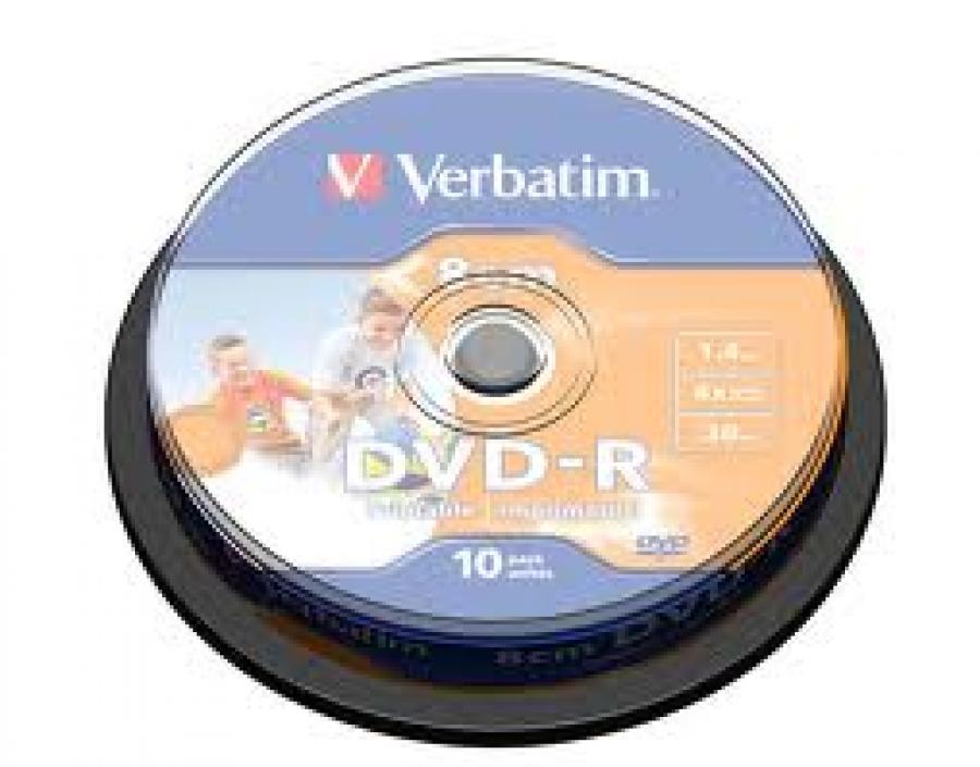 TARRINA DVD-R 10 UNIDS