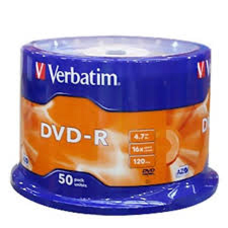 TARRINA DVD-R 50U