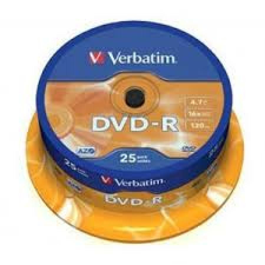 TARRINA DVD-R 25U