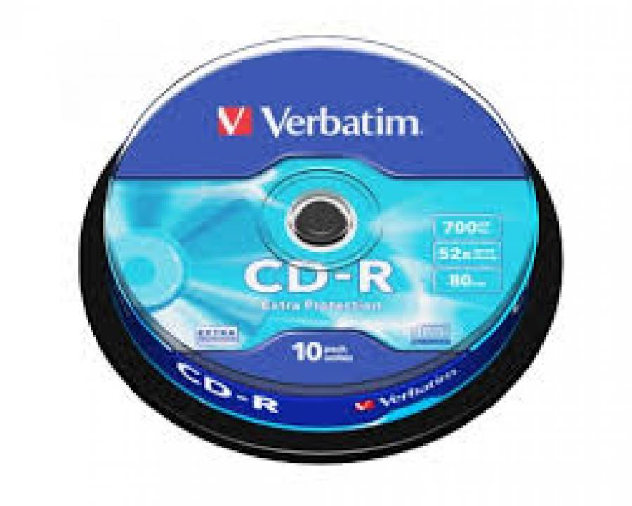 TARRINA CD-R 10U