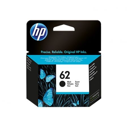 CARTUCHO NEGRO HP 62 ORIGINAL